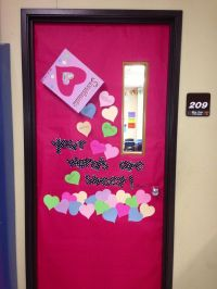 Valentines Day door/bulletin board idea. I put ...