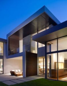 Brentwood luxury residence by belzberg architects kind of house  like also clean modern exterior homes pinterest rh