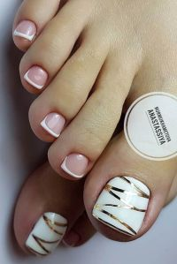 27 Toe Nail Designs to Keep Up with Trends   Toe nail ...