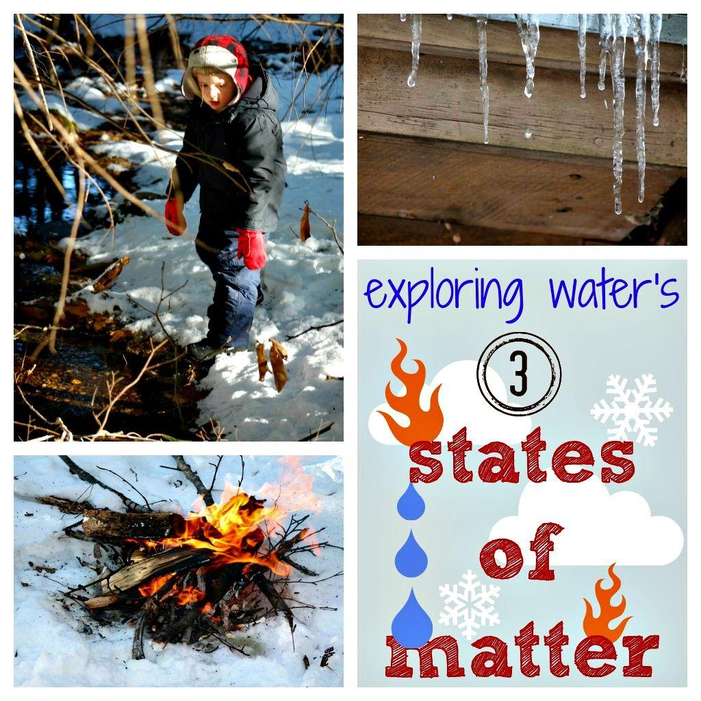 Exploring Water S 3 States Of Matter