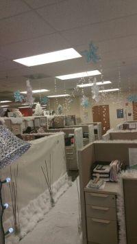 Winter Wonderland   Office Cubicle Decor Contest ...