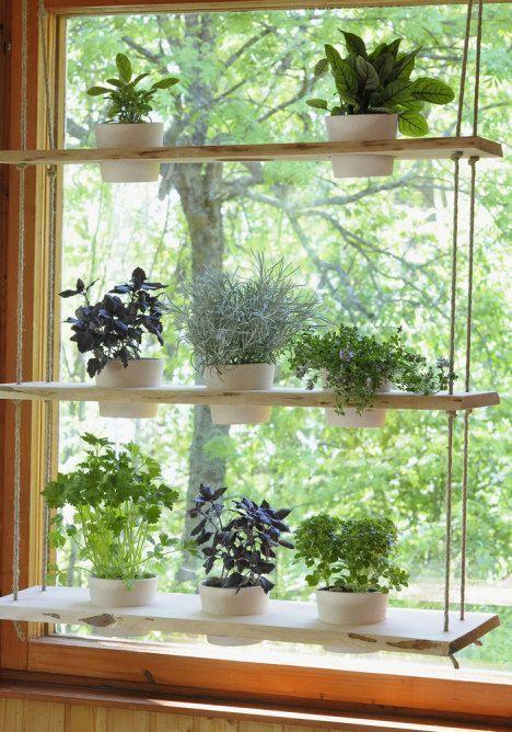 Decorative Indoor Hanging Flower Pots