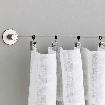 Ikea Wire Curtain Rod 12 99 Per Set Kid Bedroom Fort