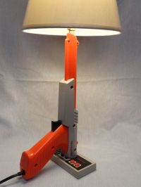 Nintendo zapper and controller lamp. Trigger operated ...