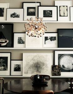 Black and white glam also gallery wall photo walls rh pinterest
