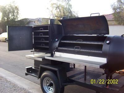 2011 Large BBQ Smoker Trailer 5142011 Mesa Arizona