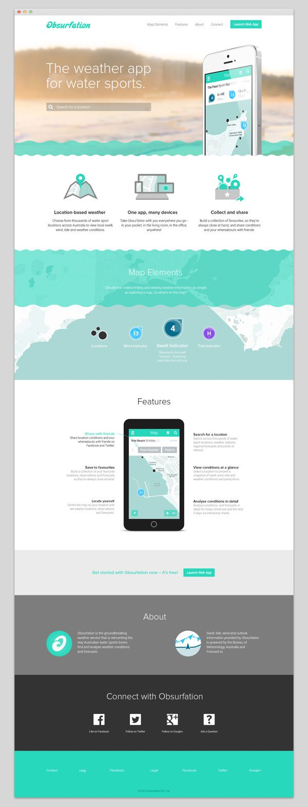 App or service website homepage design layout also obsurfation branding by pennant via behance ui rh za pinterest