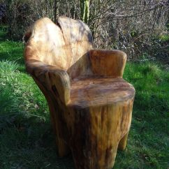 Tree Stump Chairs Lane Recliner Chair Trunk Gardens And Yards Pinterest