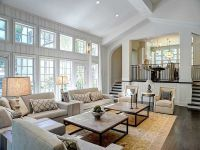 Family Room with LOTS of windows and light! (also like the