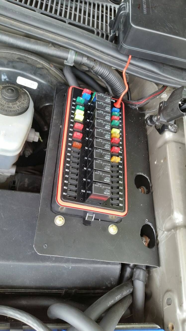 Toyota Tacoma Fuse Box Diagram Car Tuning Car Tuning
