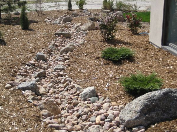 dry creek bed landscaping design