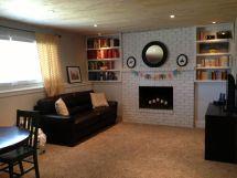 Split-Level Basement Family Room