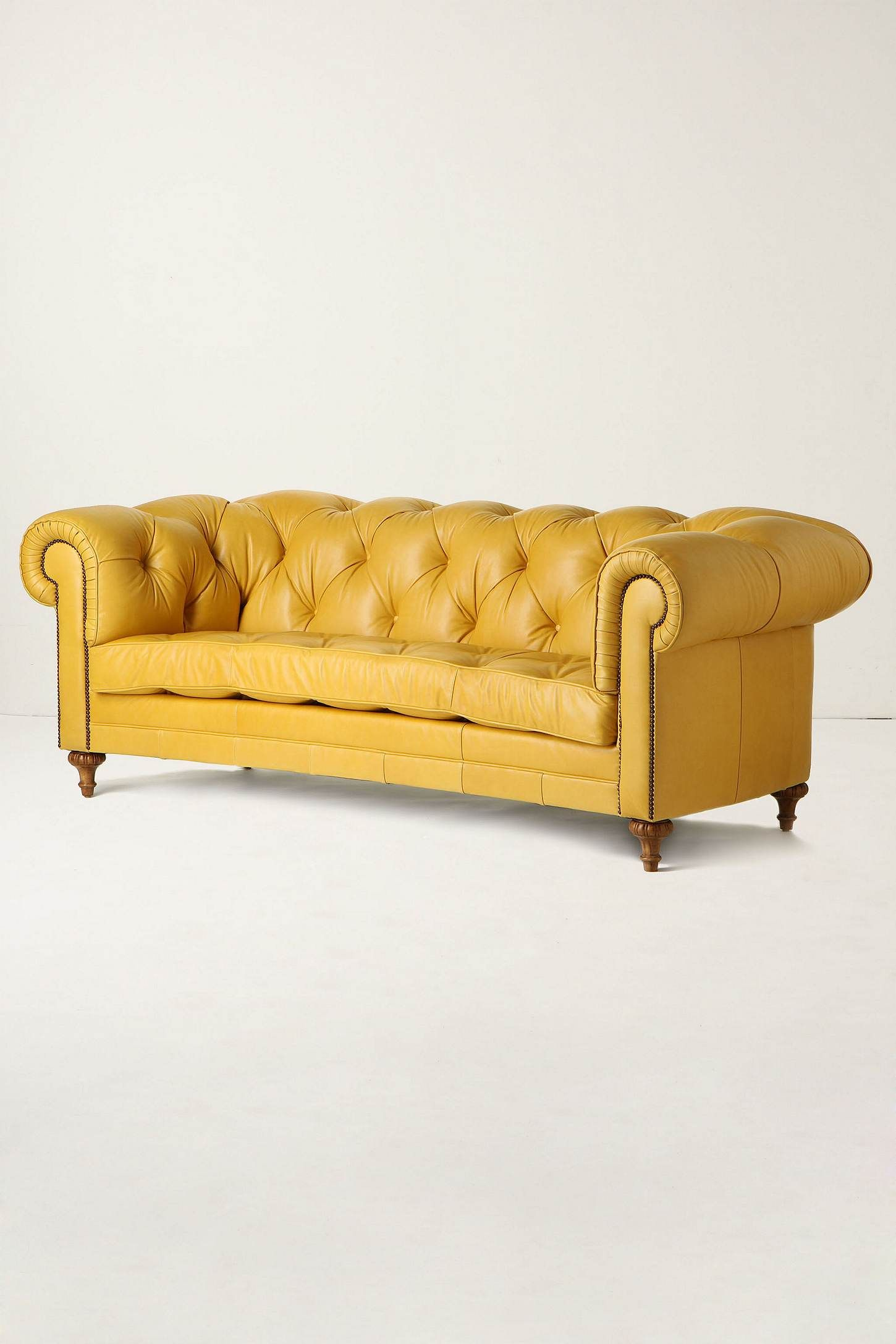 tufted yellow chair rocking slipcovers mustard will never get old for me furniture