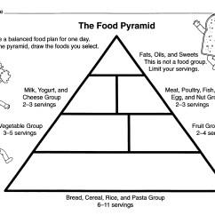 Printable Pyramid Diagram Mini Cooper Alternator Wiring Blank Food Chart