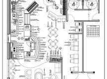 Coffee Shop floor plan | day care center | Pinterest ...