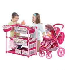 Baby Doll High Chair Toys R Us Tables And Chairs Bowery Nyc Stroller Set Strollers 2017