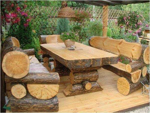 rustic outdoor furniture  Rustic outdoor furniture