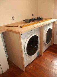 hide washer dryer in hall top loading
