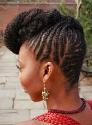 cornrow updo braids & cornrows