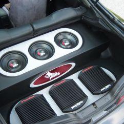 Rockford Fosgate Pbr300x4 Wiring Diagram Hella Punch 800a2 200 X 2 Car Amplifier At
