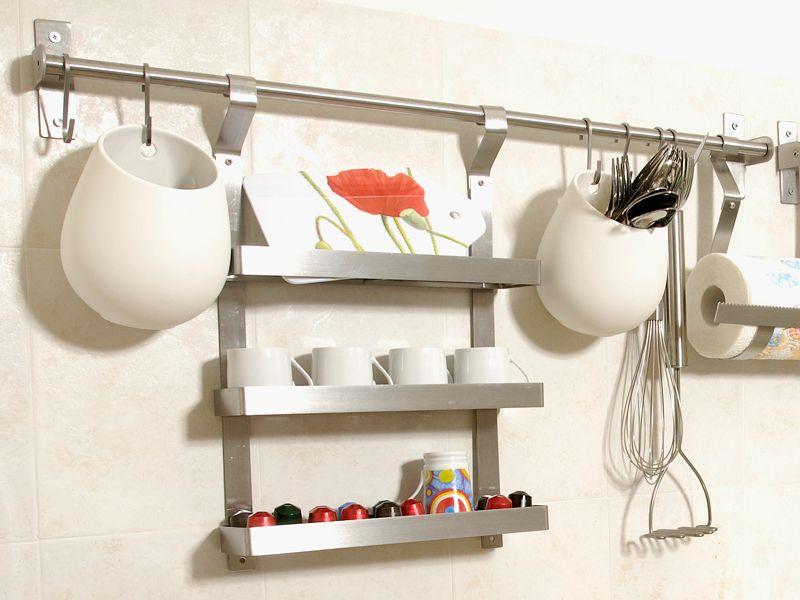 Installare contenitori da parete ikea in cucina  Idee