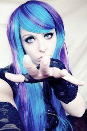 funky emo girl hairstyles long