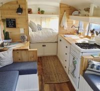 Fabulous RV Camper Vintage Bedroom Interior Design Ideas ...