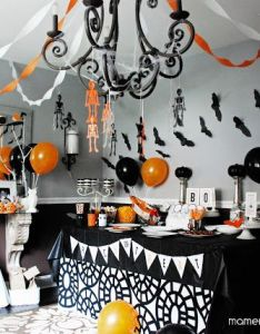 do it yourself halloween home decorating ideas ceiling decorationshalloween also rh pinterest