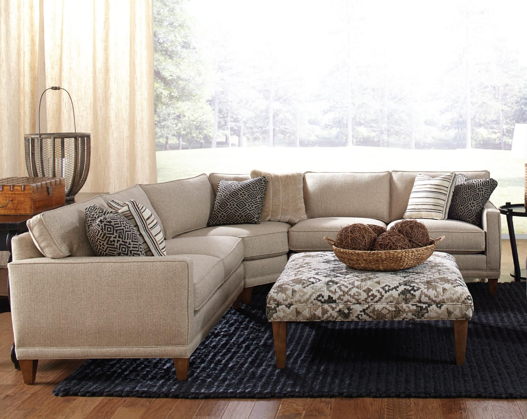 sectional sofas nashville tn large dog sofa beds uk rowe townsend contemporary 3 piece