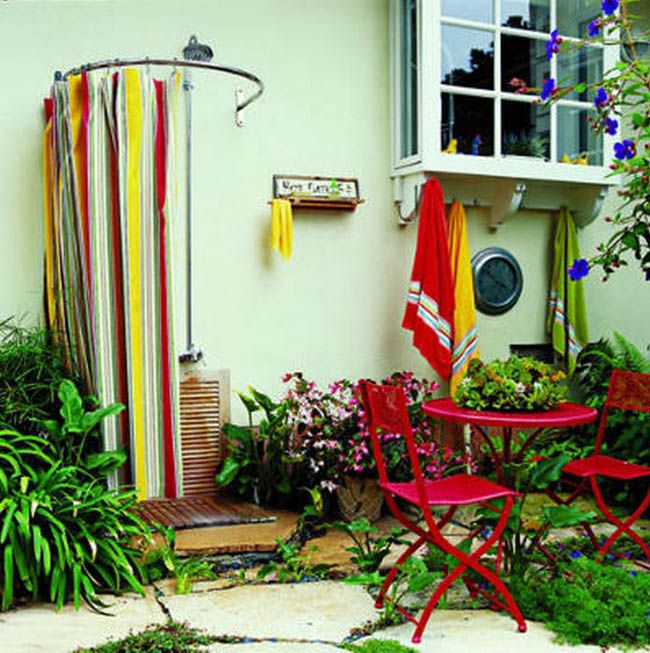 16 DIY Outdoor Shower Ideas Glasses DIY And Crafts And Search