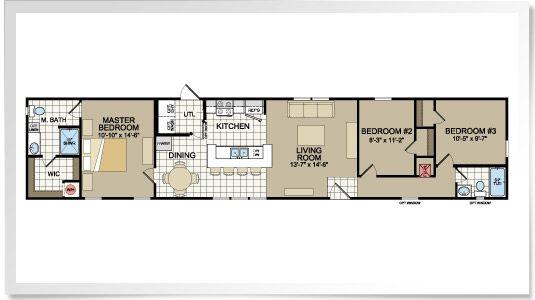 Scotbilt Mobile Home Floor Plans Singelwide Don't Settle Choose