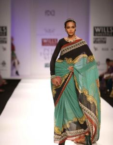 2040817280 Find this pin and more on indian sarees wills lifestyle india fashion week  also by asutosh