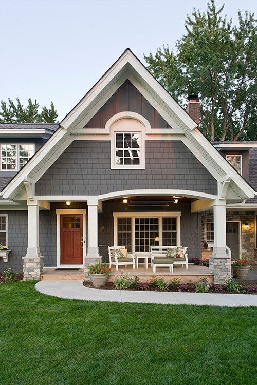 Grey And White Could Work As Well For The Exterior Home