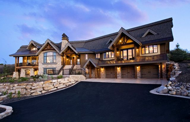 Pacific Northwest Home Designs Homes With Luxury Pool And Garden