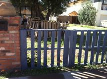 Pallet Fence. Make Play Area