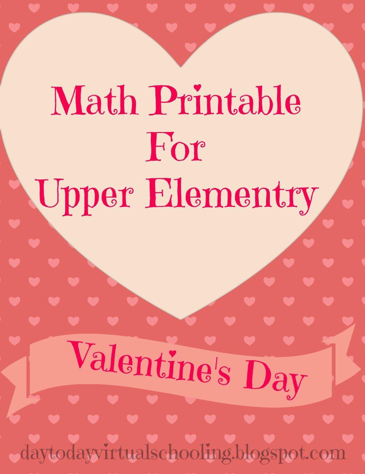 Fun Middle School Math Worksheet