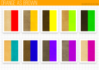 What Colors Match Brown - Home Design
