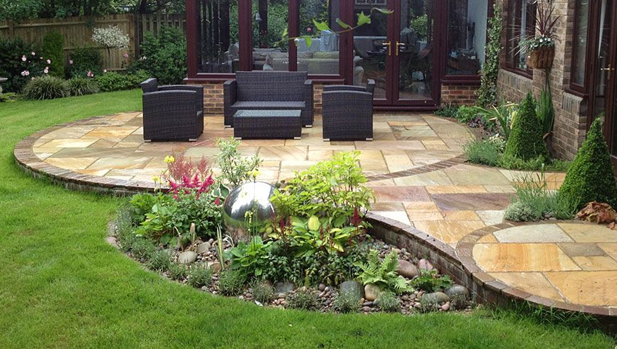 Garden Patio Ideas Contemporary Small Garden Design Creative Yard