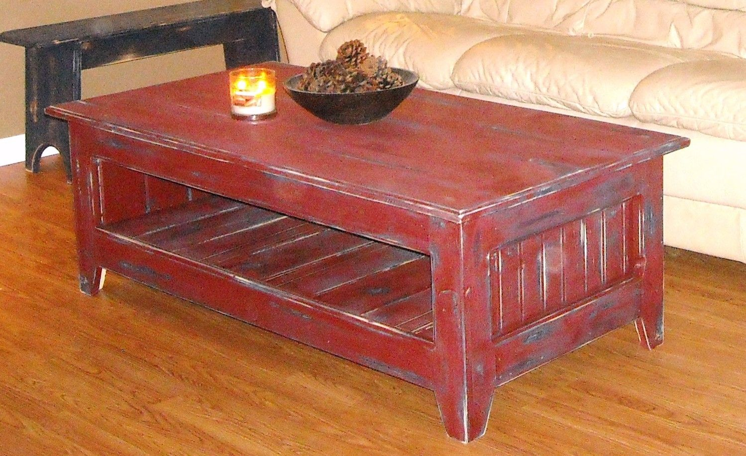 country primitive sofa tables bassett leather reviews coffee table home