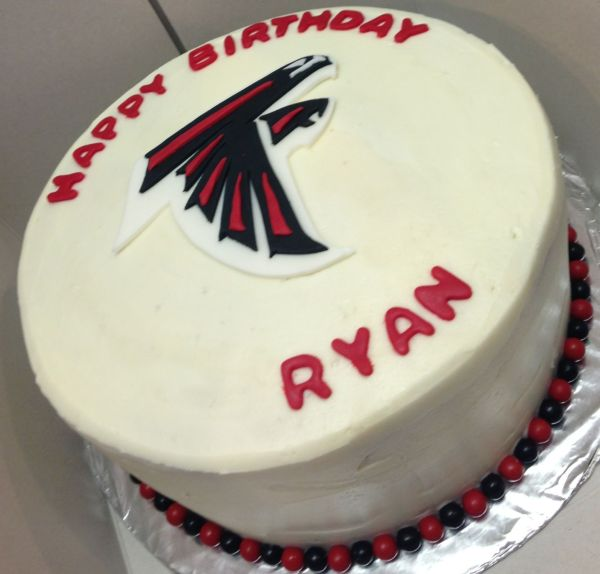 20 Cake Falcons Football Ideasatlanta Pictures And Ideas On Meta