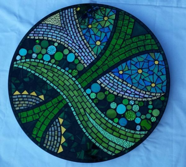 Mosaic Table Top Pattern