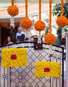 Marigold Flower Decoration For Ganpati Valoblogi Com