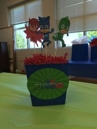 PJ Masks party decorations | party ideas | Pinterest | Pj ...