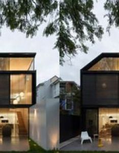 Cool glass extension gives traditional home  modern edge also rh pinterest