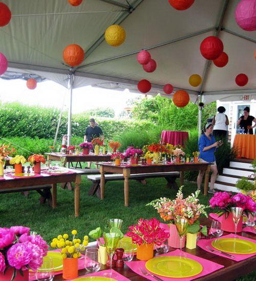 Fun Outdoor Birthday Party Décor Ideas Gardens Garden Party