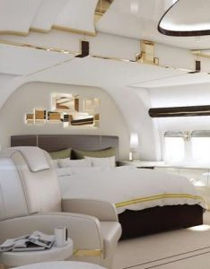 Luxury private jets interior white design the beauty hunter tegnologia pinterest and also rh