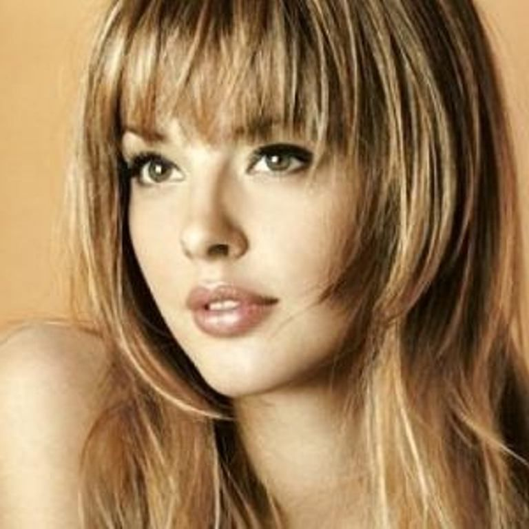 Hairstyles For Thin Straight Hair And Round Face Hair Styles For