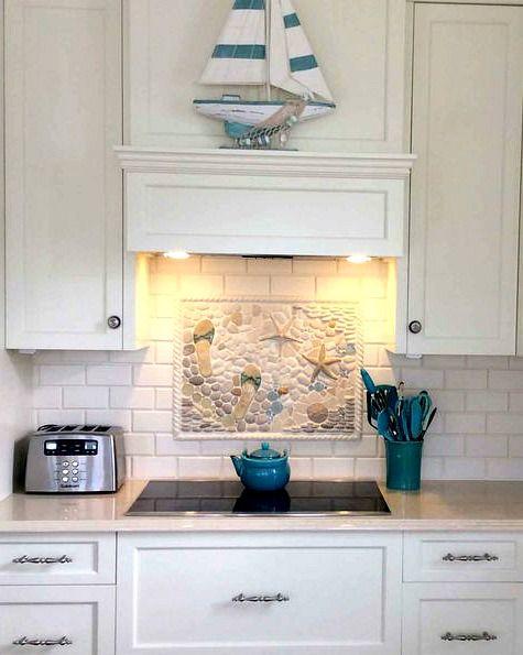 Coastal Kitchen Backsplash Ideas With Tiles Completely