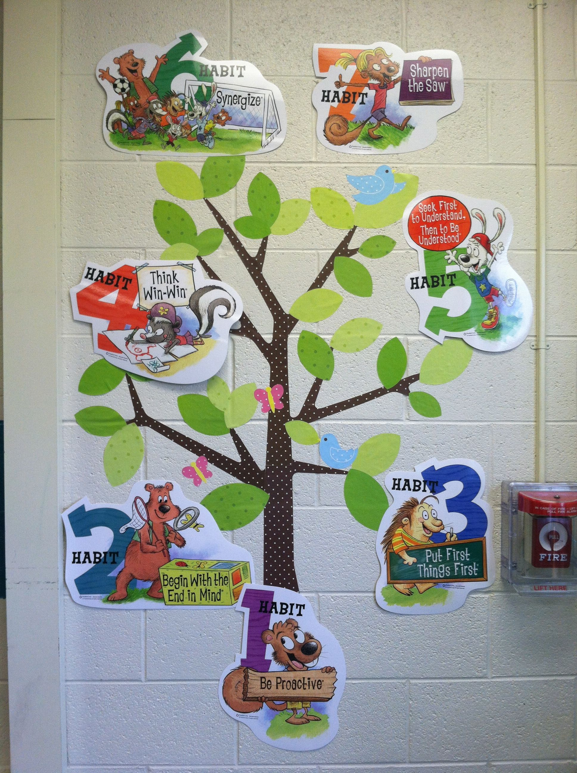 This Is A Tree Decal That Is Used To Represent The 7