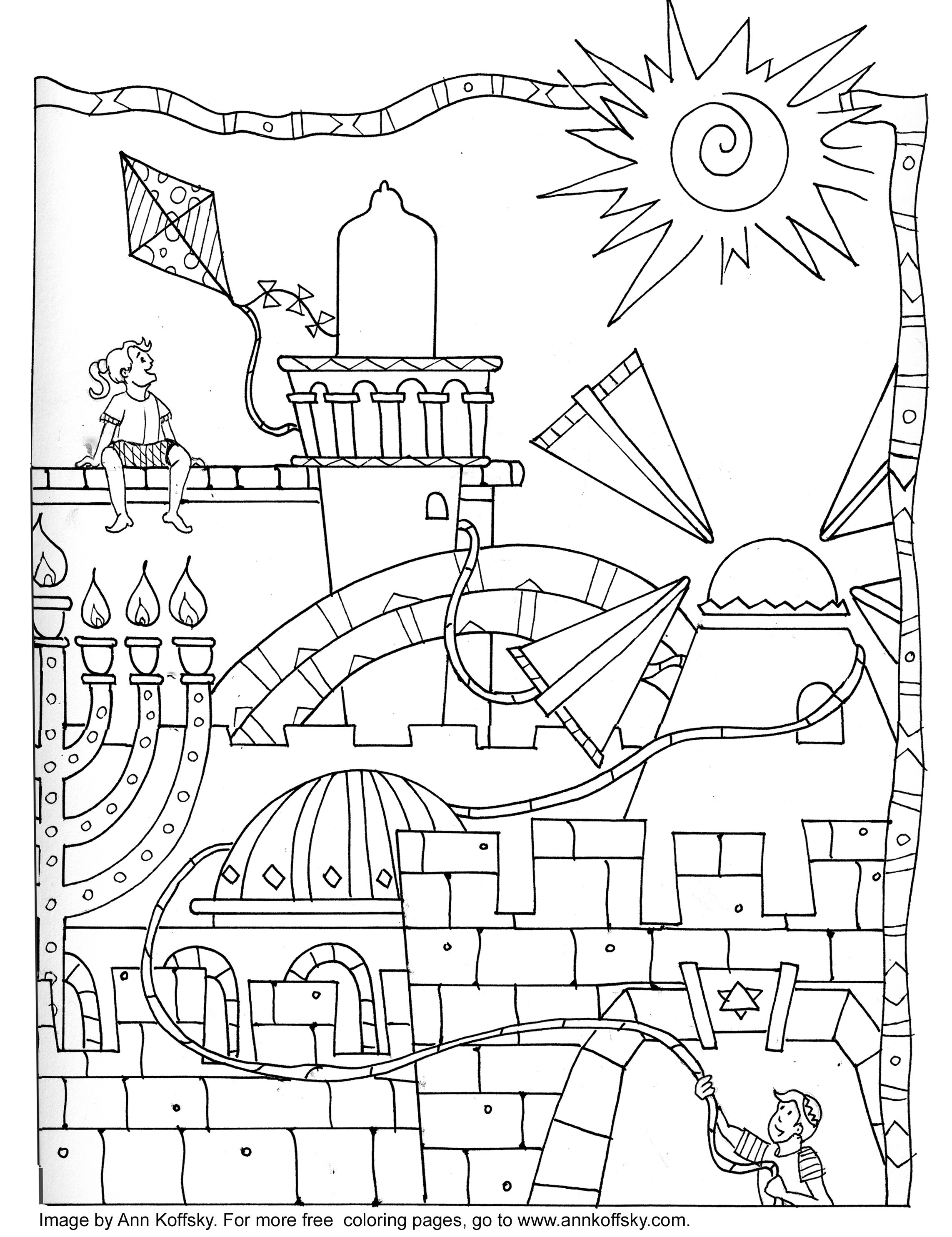 Coloring Page 9 Days
